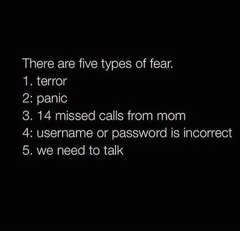 fear, mom, and true image