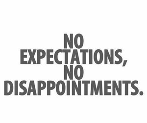 life, expectations, and quotes image