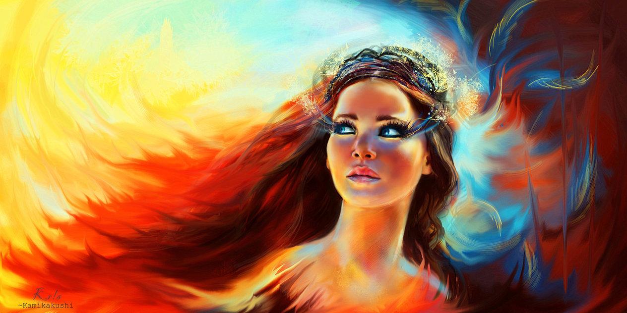 katniss, katniss everdeen, and hunger games image