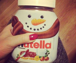 nutella, christmas, and food image
