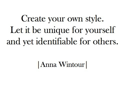 quotes, style, and Anna Wintour image