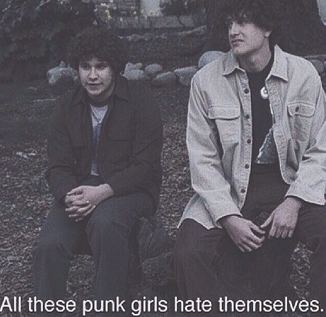 punk, grunge, and freaks and geeks image