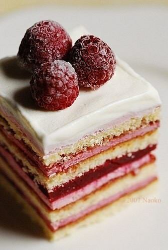 cake, raspberry, and food image