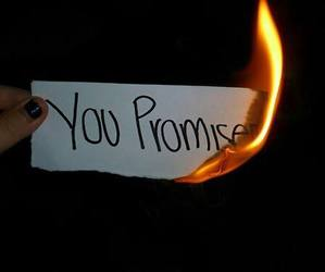 fake promises! will you ever keep one of your promises??