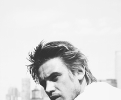 blonde, boy, and boyd holbrook image
