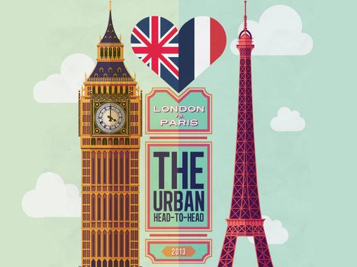 london, paris, and city image
