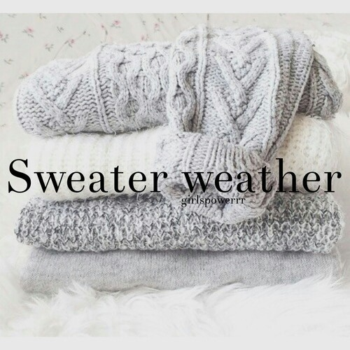 fashion, sweater, and weather image