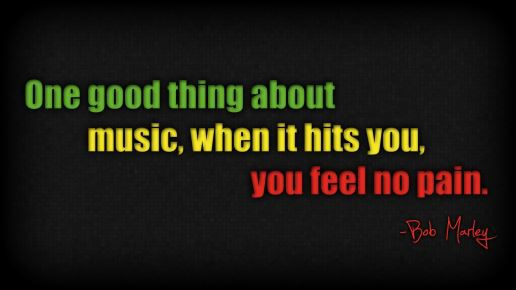 music, quote, and bob marley image