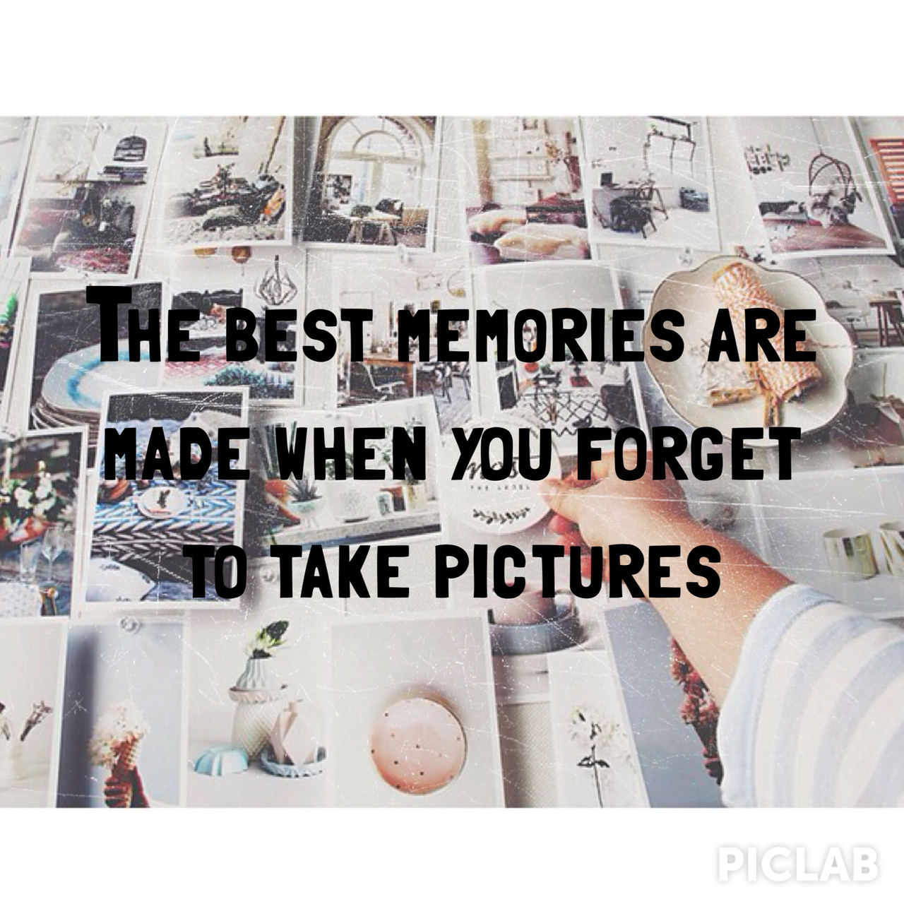 coffee, instax, and memories image