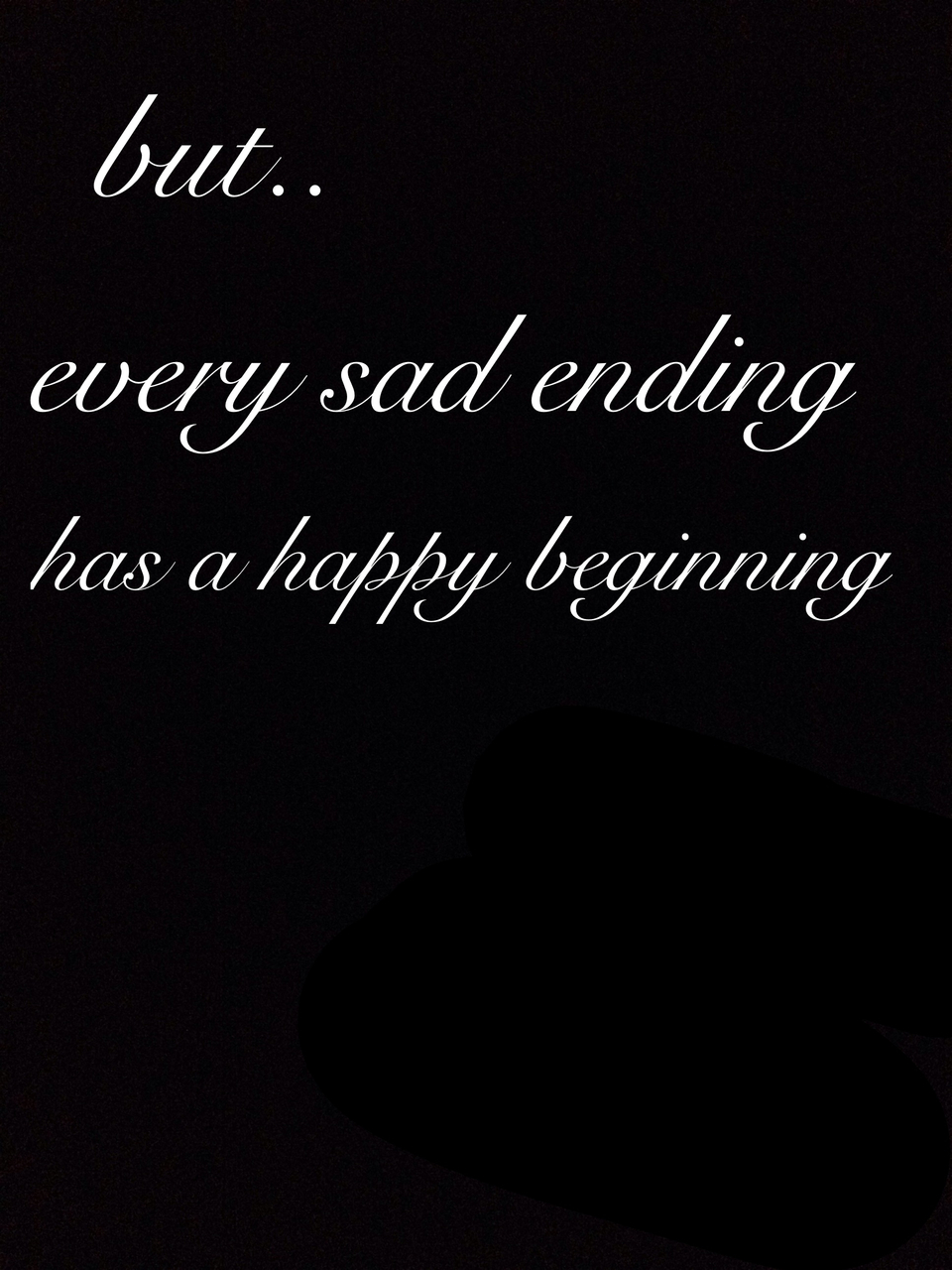 beginning, ending, and happy image