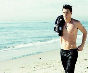 beach, Hot, and colton haynes image