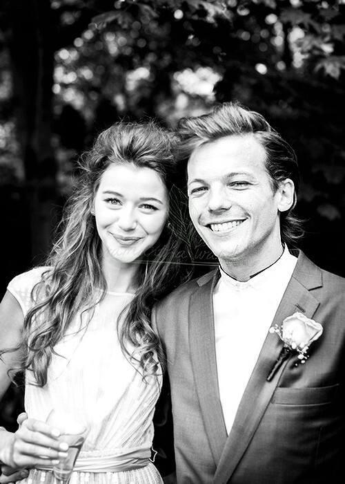 eleanor calder, louis tomlinson, and elounor image