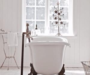 bathroom, interior, and white image