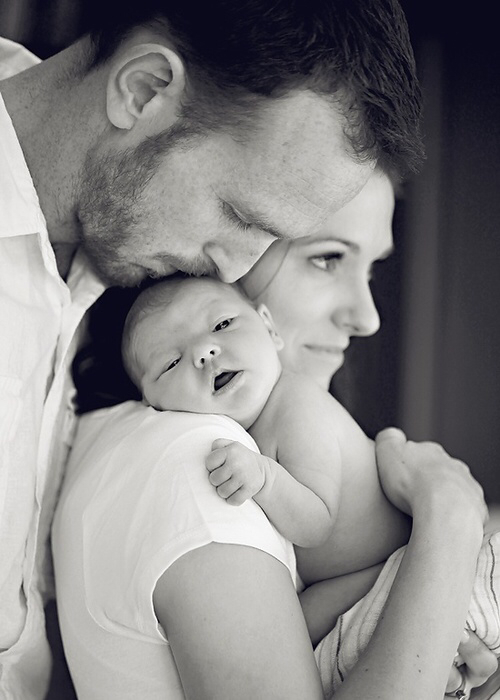 love, family, and baby image