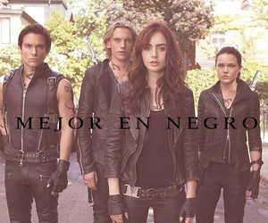 jace, clary fray, and city of bones image