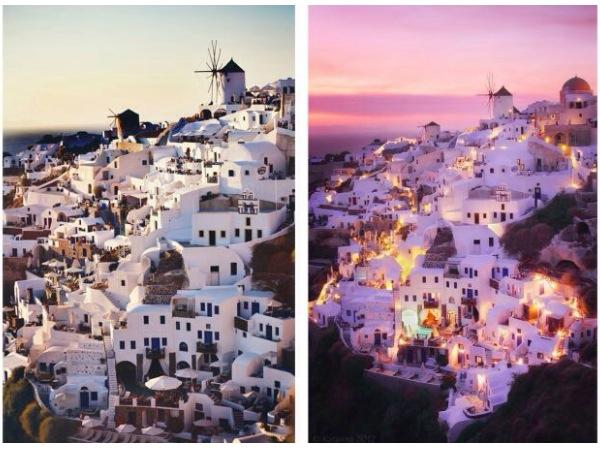 Greece and love image