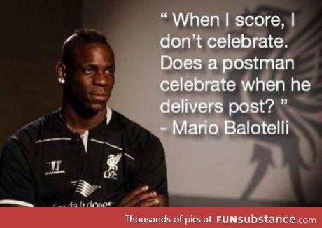 football and mario balotelli image