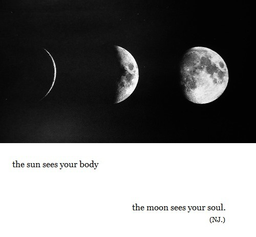 moon, soul, and sun image