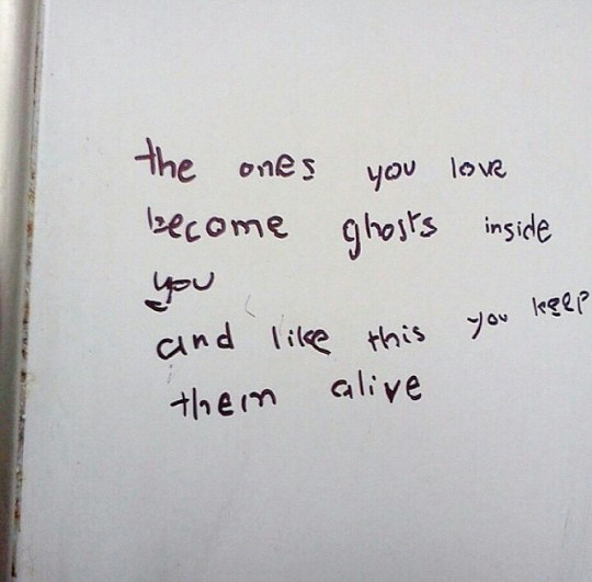 ghosts, grunge, and love image