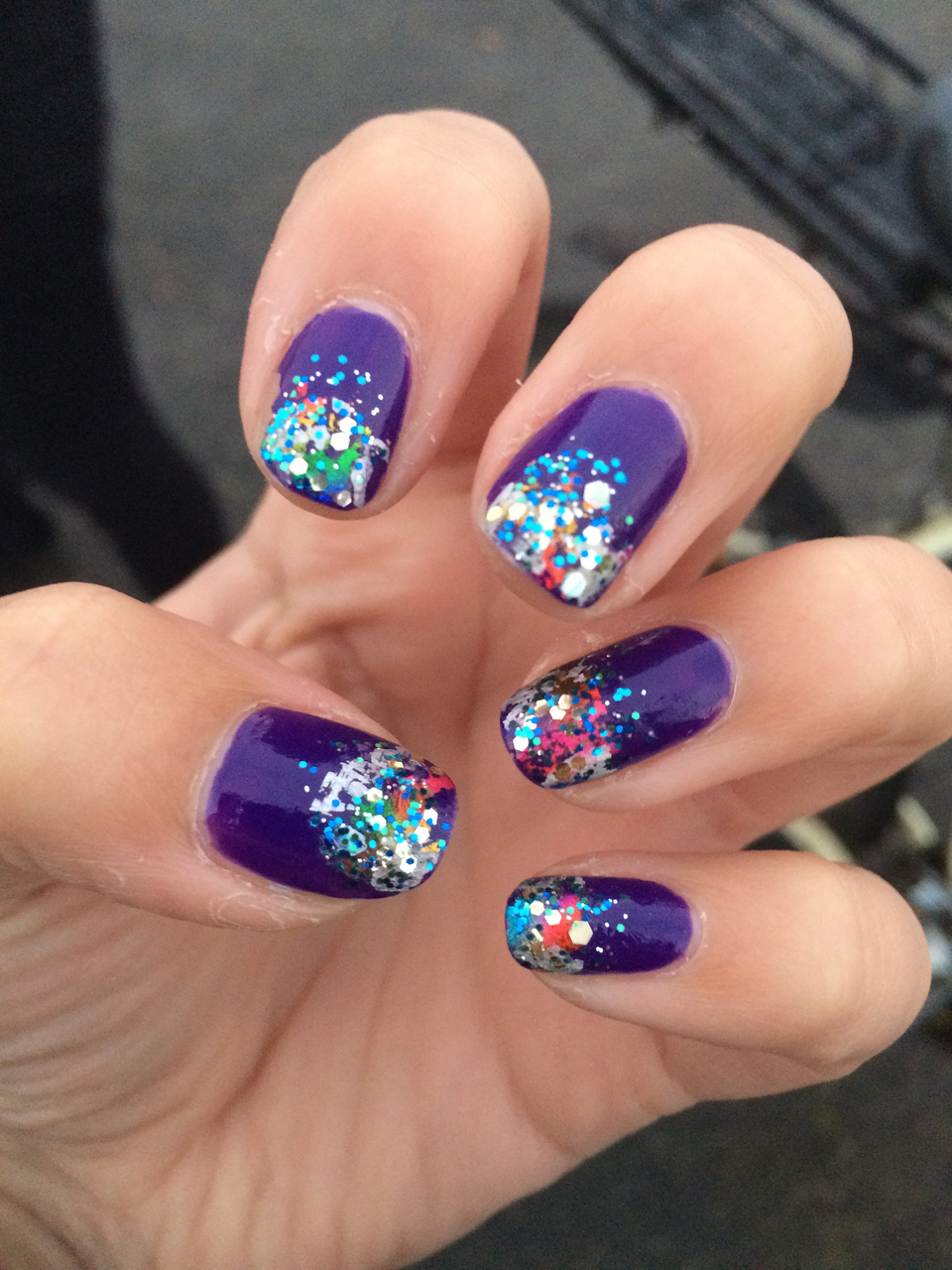 glitter, nails, and sparkle image