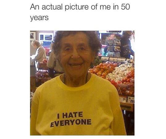 funny, hate, and me image