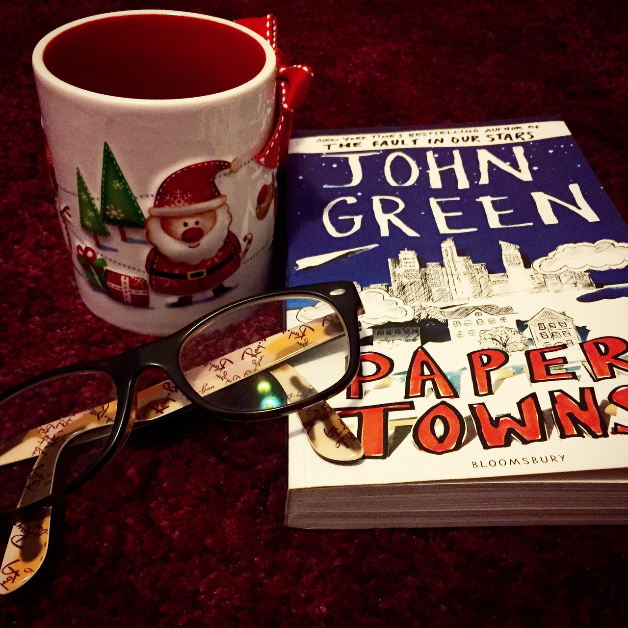 christmas, rayban, and papertowns image