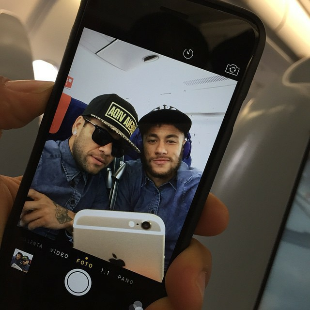 neymar, dani alves, and Barca image