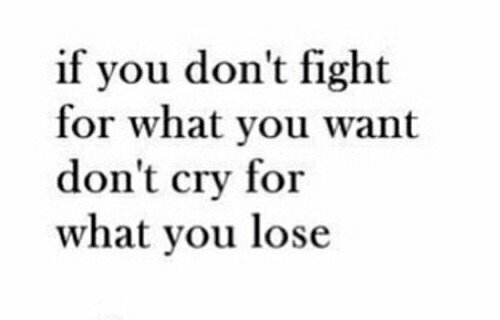 quotes, fight, and lose image