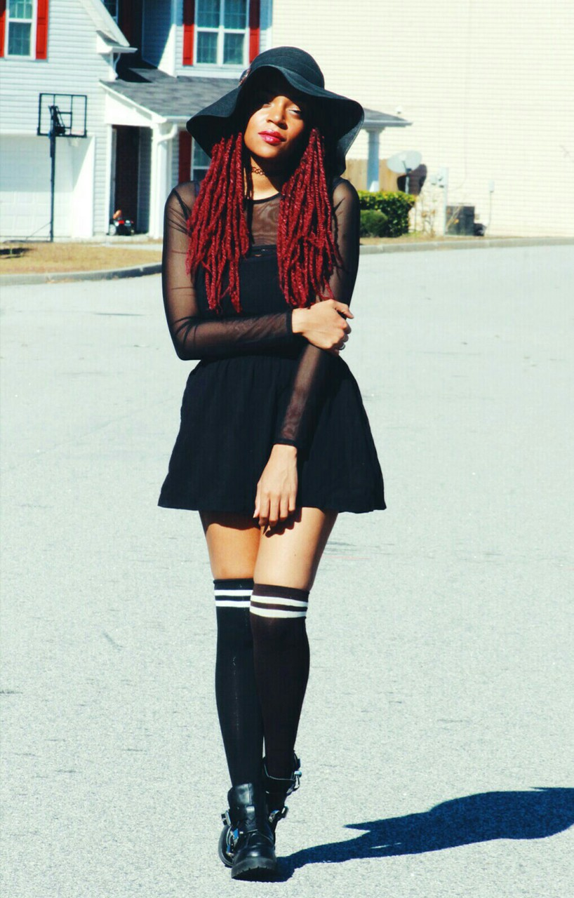 black woman and afropunk image