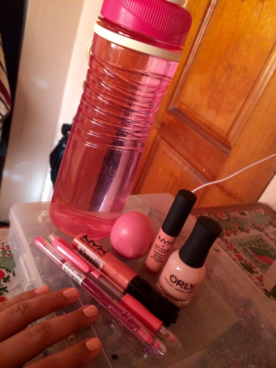 cosmetics, eos, and lip balm image