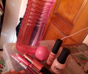 cosmetics, eos, and lip balm image
