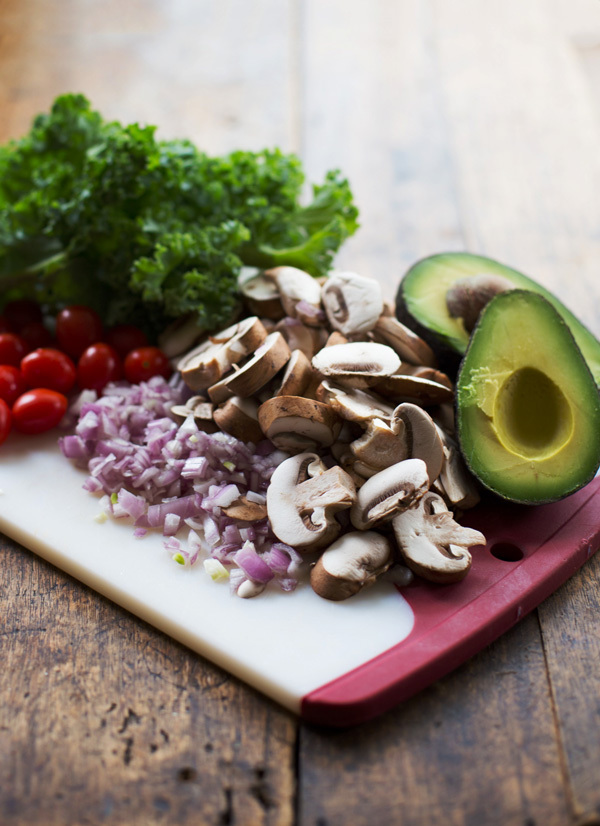 avocado, veggies, and stay fit image