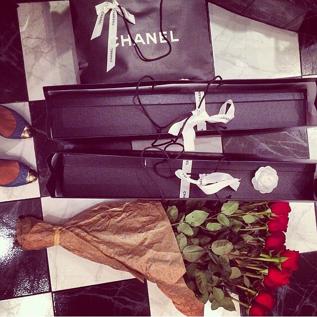 chanel, luxury, and rose image