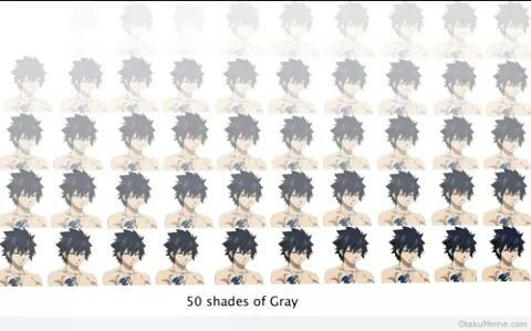 fairy tail, funny, and gray image