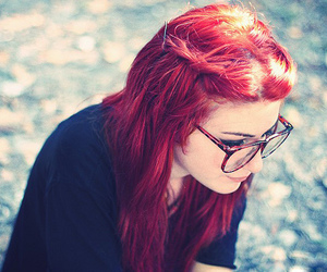 fashion, photography, and red hair image