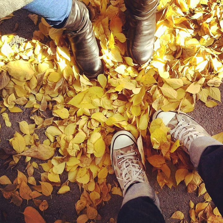 autumn, boots, and converse image