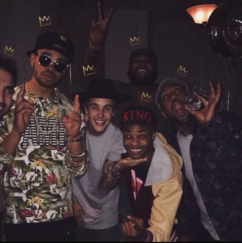 justin bieber and maejor ali image