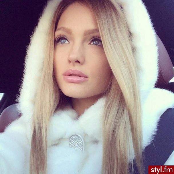 blond, makeup, and natural image