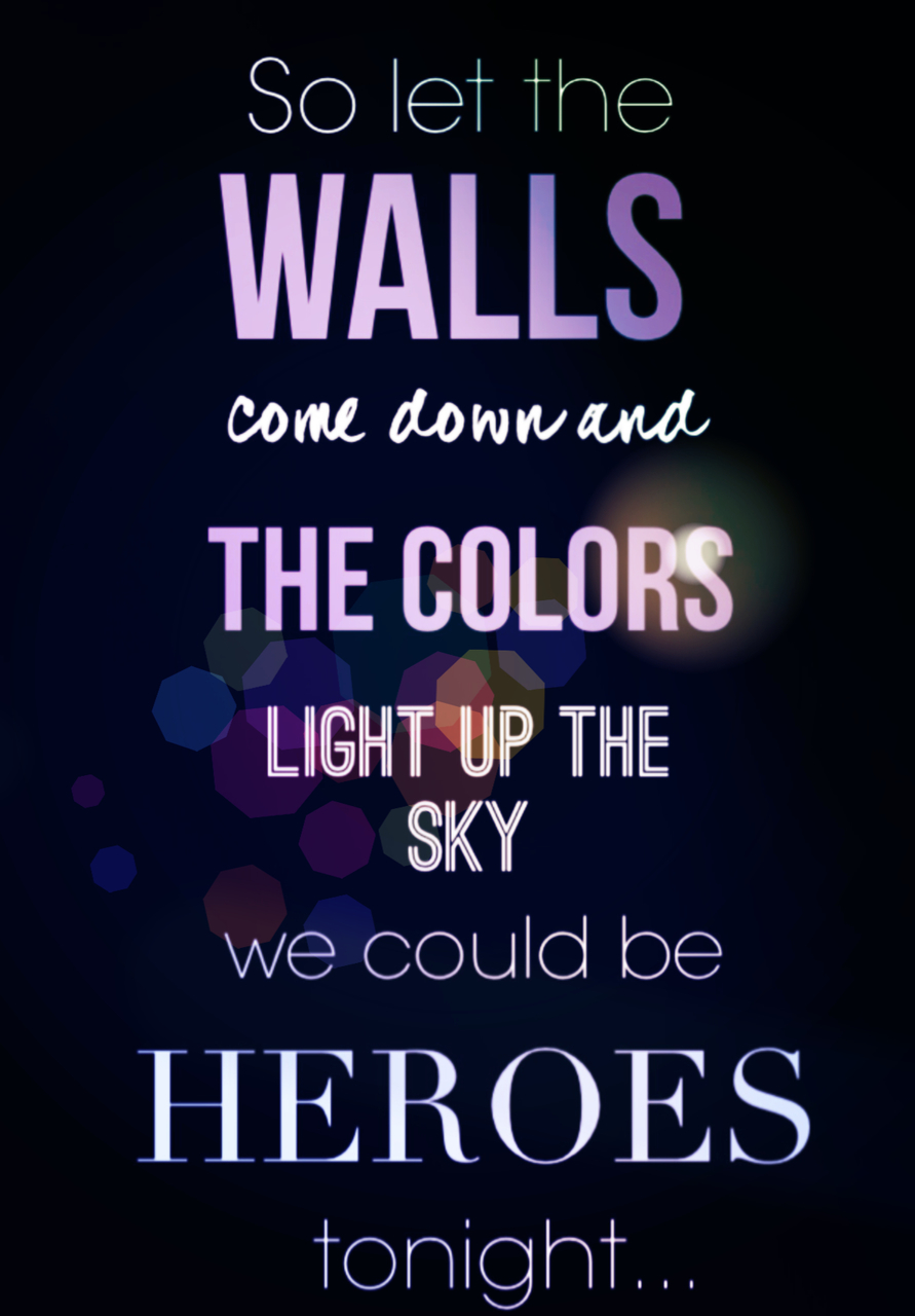 heroes, song, and conchita wurst's song image