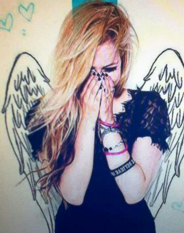 angel, smile, and Avril Lavigne image