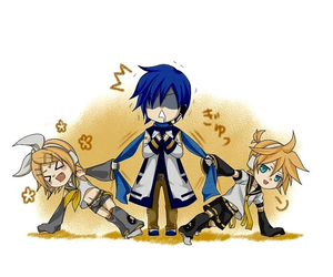 vocaloid, kaito, and rin image
