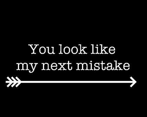 blank, look, and mistake image