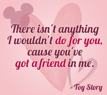 disney, toy story, and quote image