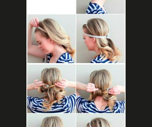 beauty, Easy, and hairstyle image
