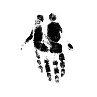 art, couple, and hand image