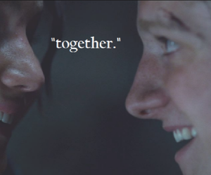 together, mellark, and love image