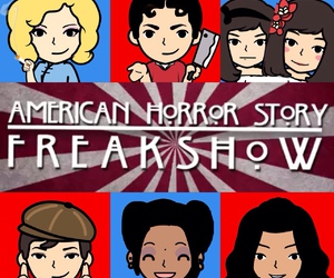 freak show, american horror story, and kit walker image