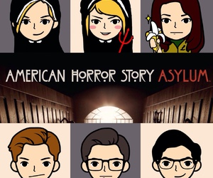 asylum, american horror story, and kit walker image