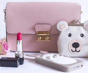 accessories, bag, and bear image