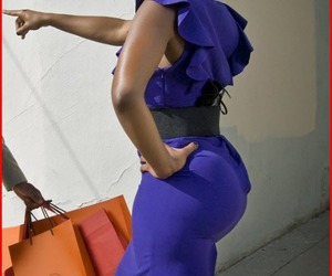 ass, black women, and booty image